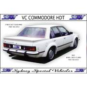 GROUP C REAR SPOILER FOR VB-VC COMMODORE - HDT 3 PIECE