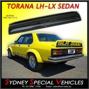 REAR SPOILER FOR LH-LX TORANA SEDAN - SLR5000 STYLE