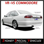 SIDE SKIRTS FOR VR-VS COMMODORE SEDAN - SPECIAL VEHICLES STYLE