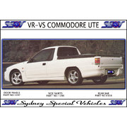 REAR BAR FOR VG VP VR VS COMMODORE UTE - MAGNUM STYLE