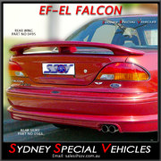 REAR SPOILER FOR EF & EL FALCON SEDAN - EL XR STYLE