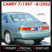 REAR SPOILER FOR CAMRY 7/1997-8/2002 - FACTORY STYLE