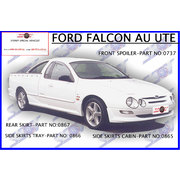 CABIN SIDE SKIRTS FOR AU FALCON UTES - TICKFORD STYLE