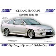 CE LANCER COUPE FRONT BUMPER BAR - EXTREME STYLE