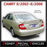 REAR SPOILER FOR CAMRY 9/2002-6/2006 - FACTORY STYLE