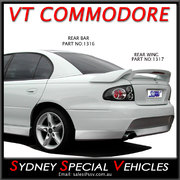 REAR WING / BOOT SPOILER FOR VT-VX COMMODORE SEDAN VX CLUBSPORT STYLE