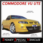 SIDE SKIRTS FOR VU COMMODORE UTES - VU MALOO STYLE