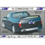 HARD LID SPOILER FOR VU-VZ COMMODORE UTES - MALOO STYLE