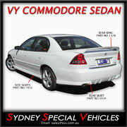 REAR SPOILER FOR VY COMMODORE SEDAN - VY S PACK STYLE