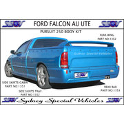 TRAY SIDE SKIRTS FOR AU BA BF FALCON UTES - PURSUIT 250 STYLE