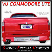 REAR BAR FOR VU VY VZ COMMODORE UTES - VU MALOO STYLE