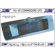 NUMBER PLATE HOLDER FOR VU VY VZ COMMODORE UTES - MALOO STYLE