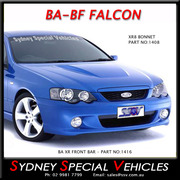 FRONT BAR FOR BA-BF FALCON, BA XR6 XR8 STYLE