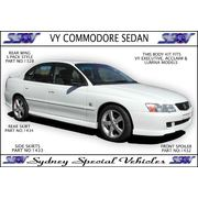 SIDE SKIRTS FOR VT-VZ COMMODORE SEDAN - VY SS STYLE