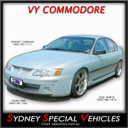 SIDE SKIRTS FOR VT-VZ COMMODORE SEDAN - VY HSV STYLE