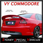 REAR WING FOR VY - VZ COMMODORE SEDAN - VY CLUBSPORT STYLE