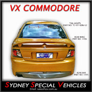 REAR BUMPER BAR FOR VT-VX COMMODORE SEDAN - VY SV STYLE
