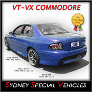 SIDE SKIRTS FOR VT-VZ COMMODORE SEDAN - GTO STYLE