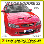 BONNET FOR VY COMMODORE - GTO MONARO STYLE