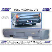 REAR BUMPER BAR FOR AU & BA FALCON UTES - QUAD EXHAUST STYLE