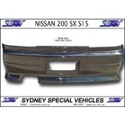 REAR BAR FOR NISSAN 200 SX S15