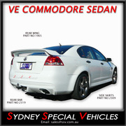 REAR WING SPOILER FOR VE COMMODORE SEDAN - SS STYLE
