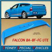 HARD LID SPOILER FOR AU  BA BF FALCON UTES - FPV STYLE