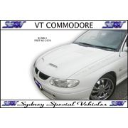 BONNET FOR VT VX VU COMMODORE - BANSHEE STYLE