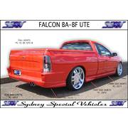 TRAY SIDE SKIRTS FOR BA BF FALCON UTES - XR6 XR8 STYLE