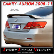 REAR SPOILER FOR CAMRY 7/2006-2011 - FACTORY STYLE