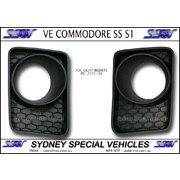 LEFT HAND FOG LIGHT INSERT FOR VE COMMODORE SERIES 1 SS  SV6 SSV FRONT BAR