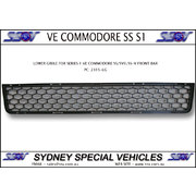 LOWER GRILLE FOR VE COMMODORE SERIES 1 SS  SV6 SSV FRONT BAR