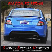 REAR WING FOR FG FALCON SEDANS XR6 XR8 STYLE