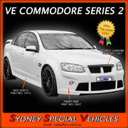 SIDE SKIRTS FOR VE-VF SEDANS & WAGONS - X2 STYLE