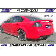 SIDE SKIRTS FOR VE-VF SEDANS & WAGONS - X2R STYLE