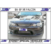 FRONT BUMPER BAR FOR FALCON BA BF, BF XR'S - RACE STYLE
