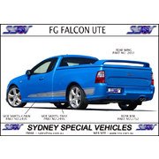 TRAY SIDE SKIRTS FOR FG FALCON UTES - FPV STYLE