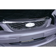 UPPER GRILLE FOR BA & BF FALCON XR6 & XR8 WITH CHROME FINISH