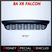 Lower grille for BA FALCON XR6 & XR8 - black