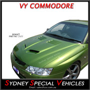 BONNET FOR VY COMMODORE - GTO STYLE WITH HEAT VENTS