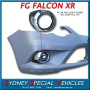 CHROME DRIVING LIGHT COVER FOR FG XR - DRIVERS SIDE