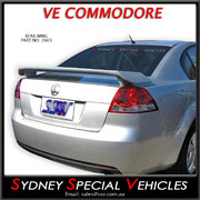 REAR WING SPOILER FOR VE COMMODORE SEDAN
