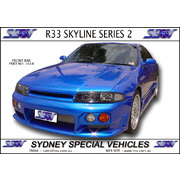 FRONT BAR FOR R33 SKYLINE SERIES 2 - NISMO STYLE