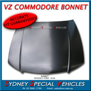 VZ COMMODORE FACTORY STYLE BONNET IN STEEL PREPRIMED