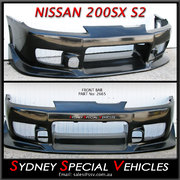 FRONT BUMPER BAR FOR 200SX S15 - C-WEST STYLE