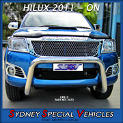 CHROME GRILLE FOR HILUX - 2011-2015 - BENTLEY STYLE