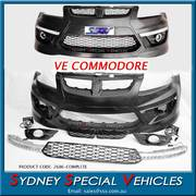 FRONT BAR FOR VE COMMODORE HSV E2 E3 WITH GRILLES & LIGHTS