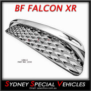 Lower grille for BF Falcon XR6 & XR8 - chrome