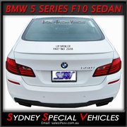 REAR SPOILER FOR BMW 5 SERIES SEDAN F10 2010-2016