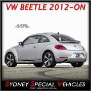 REAR  SPOILER FOR VW BEETLE 2012-2016